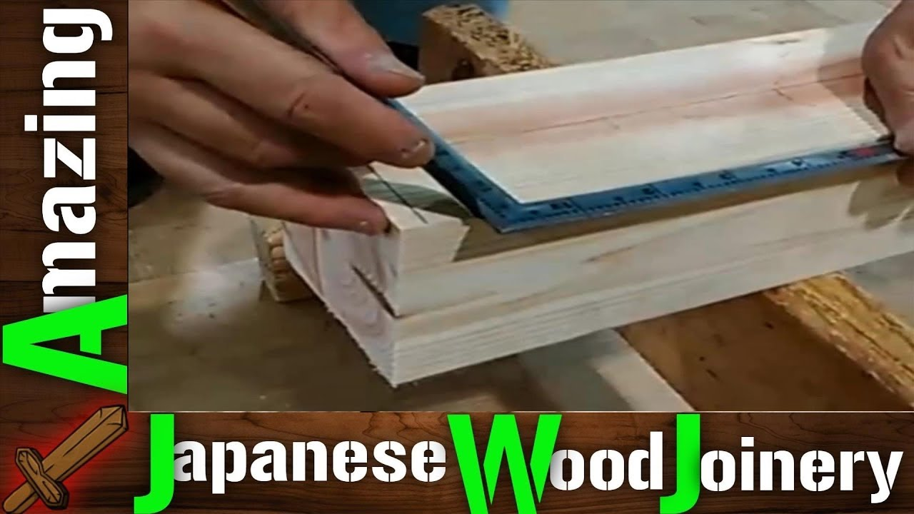 Amazing Japanese Woodworking Techniques Fastest Hand Cut Joinery