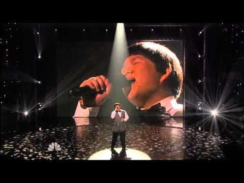 "20100811 Lin Yu Chun Performed  ""I Will Always Love You"" on TV Show ""America's Got Talent"""