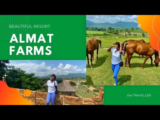 ALMAT FARMS, BEAUTIFUL RESORT IN KUJE.