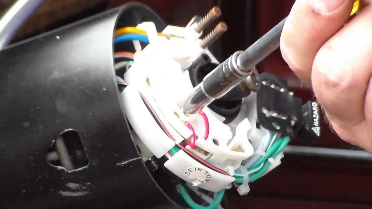medium resolution of 1980 1991 ford turn signal cam replacement tilt column
