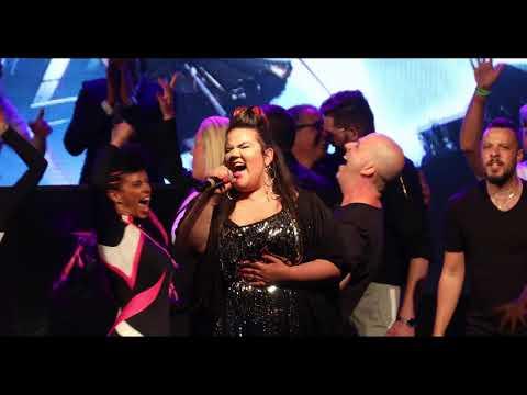Netta - Toy - Israel - Live Tel aviv 2018  נטע ברזילי מופע הניצחון בתל אביב
