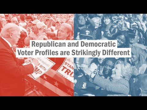 How Republican and Democratic voters have changed since 1992