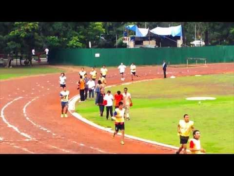 สอบวิ่ง นสต. บช.น. 2556 (1 กิโลเมตร) By Songkran Klayto