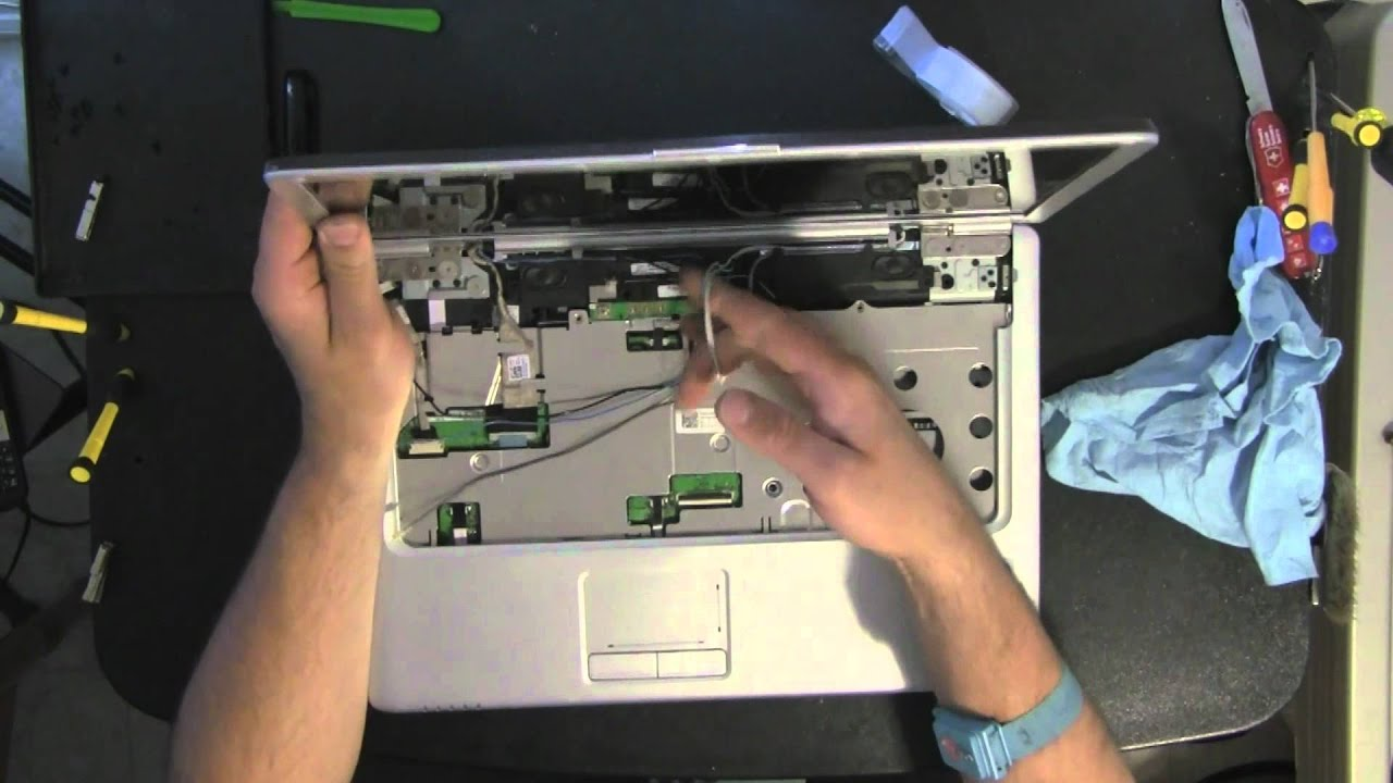 DELL INSPIRON 1525 1526 laptop take apart video ...