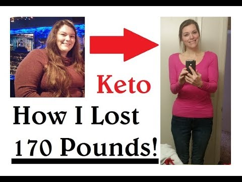 How I Lost 170 Pounds with a Keto / Low Carb Diet! - YouTube