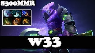 Dota 2 - w33 8300MMR Plays Faceless Void - Ranked Match Gameplay