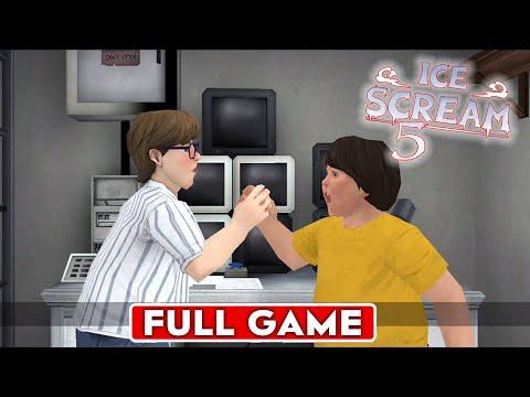 Видео: ICE SCREAM 5 FRIENDS FULL GAMEPLAY  МОРОЖЕНЩИК 5 ПРОХОЖДЕНИЕ!