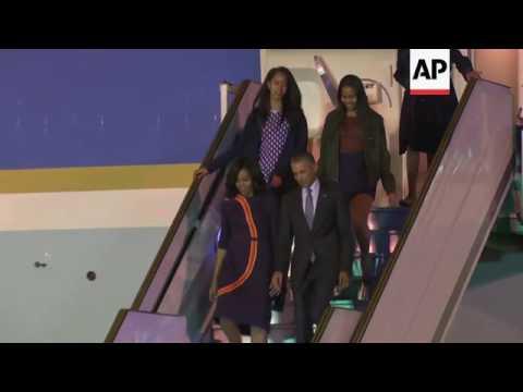 AP cover: Obama arrives in Argentina