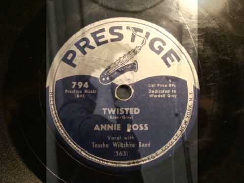 78rpm: Twisted - Annie Ross, 1952 - Prestige 794