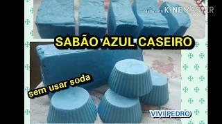 SABÃO AZUL CASEIRO