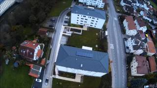 DJI Phantom 2 + Goodluckbuy China Gimbal + DJCAM DJ4000 erster Testflug