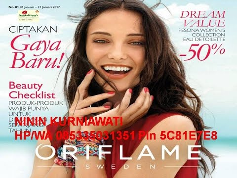 katalog oriflame januari 2017 promo terbaru produk the one bb cream bright perfect spf 30 youtube. Black Bedroom Furniture Sets. Home Design Ideas