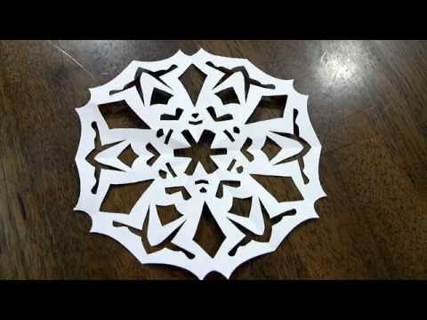 Make Paper Doilies or Snowflakes
