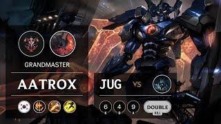 Aatrox Jungle vs Karthus - KR Grandmaster Patch 9.22