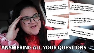Answering YOUR Questions *quitting Grad School, Wedding Planning And More!*