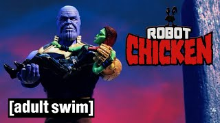 Robot Chicken Does... Marvel (Part 2) | Adult Swim UK 🇬🇧