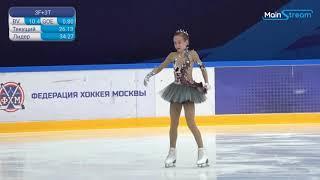 Elizaveta BERESTOVSKAYA Ladies Short Program 13 Moscow Junior Championships 2020 9 4