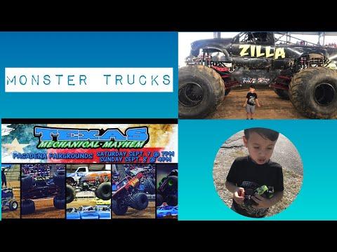 Monster Truck Show _ Texas Mechanical Mayhem _ Pasadena Fairgrounds
