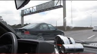 Gol Turbo Punch  Vs BMW quem levou á Benga - Punch Carangas Power thumbnail