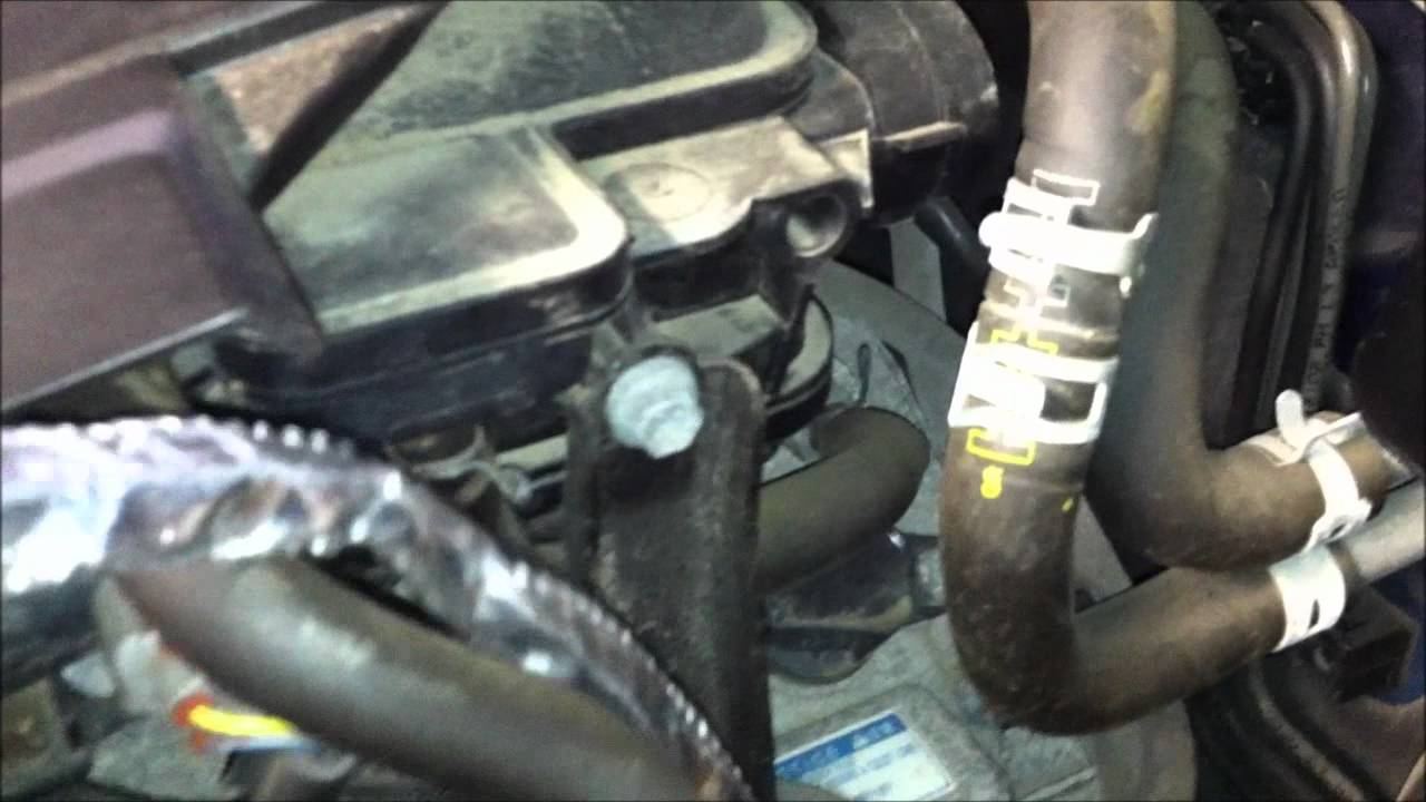 2005 2011 V6 Engine Block Heater Install Wmv Youtube