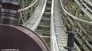 Обложка 에버랜드 한국 T Express Wooden Roller Coaster POV In HD Full Everland South Korea HD