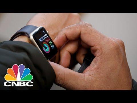 Apple Unveils Apple Watch Series 3   CNBC