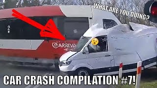 Russian Car Crash Compilation #7! Car Accident on Dashcam(DVR) on roads of Russia and USA!