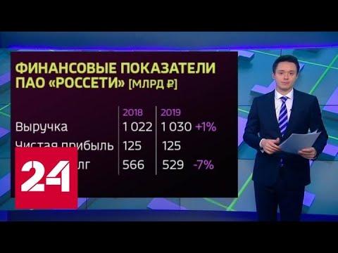 """""""Россети"""": отчетная встреча с президентом России - Россия 24"""