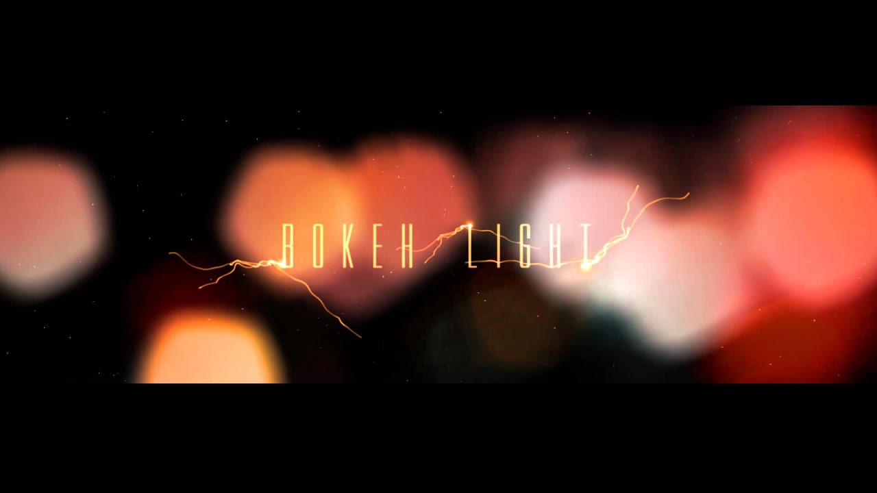 how to use adobe after effects templates - a free adobe after effects template bokeh light youtube