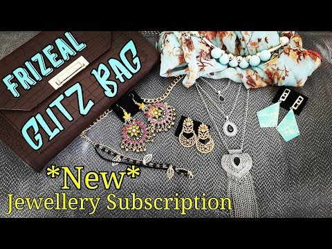 *New* Frizeal | Jewellery Subscription Bag @549 | Discount code | First on Youtube | *Giveaway open*