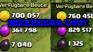 Clash of Clans: MEEEGA LOOT x2