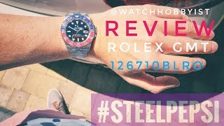 Download Video REVIEW: Rolex Pepsi GMT Steel 126710BLRO Baselworld 2018 with Jubilee Bracelet MP3 3GP MP4