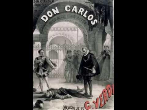 Giuseppe Verdi - DON CARLOS - Mort de Rodrigue & Act IV Finale