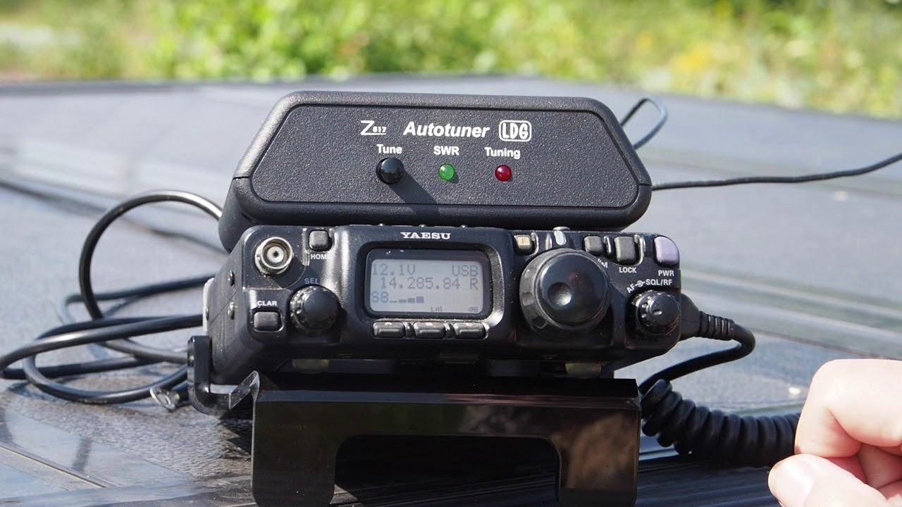 Working QRP, LDG Z817 Tuner Review