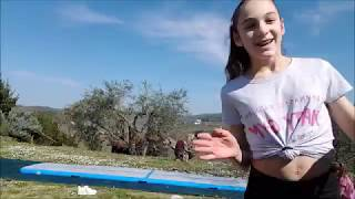 Yoga Challenge Two Girls Teen Play Yoga Subscribe In My Channel To See More Video And Enjoy With Me