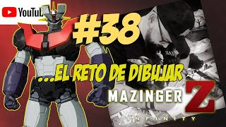 DRAWING MAZINGER Z