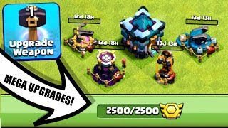WE SPENT 100 MILLION ON TOWN HALL 13!! CLASH OF CLANS MEGA UPGRADES!