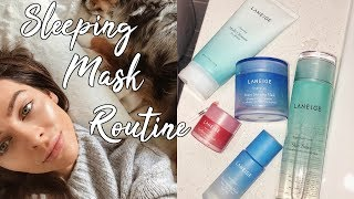 GLOWY SKIN OVERNIGHT | Sleeping Mask Routine