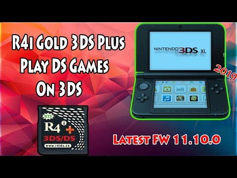 How To Use R4i Gold 3DS Plus Play DS Games On Any 3DS/2DS V11 10 0