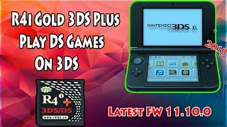 How To Use R4i Gold 3DS Plus Play DS Games On Any 3DS/2DS V11.10.0-43