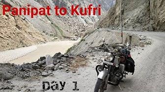 Panipat to Kufri   |  Spiti - Leh - Manali Ride