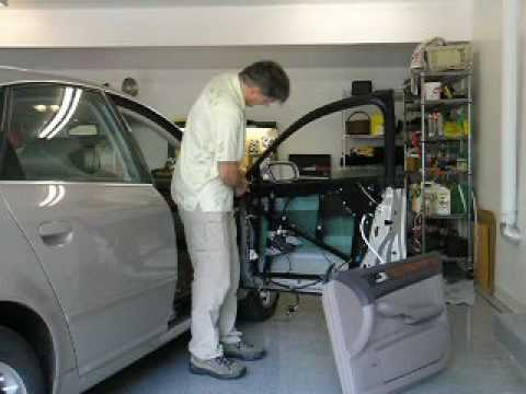 Audi a6 power window repair youtube for 2001 audi a6 window regulator