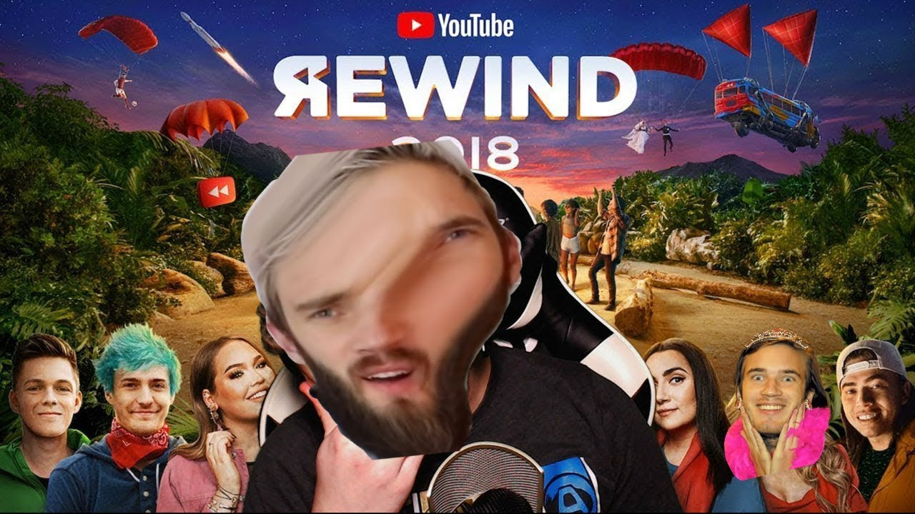 Youtube Rewind 2018 but when it gets Cringy our Lord Pewdiepie shows up