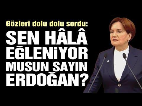 İYİ Parti Grup Toplantısı 3 Mart / Akşener'in gözleri doldu ve Erdoğan'a sordu...