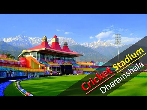 "India's Most Beautiful Cricket stadium- ""Dharamshala"""