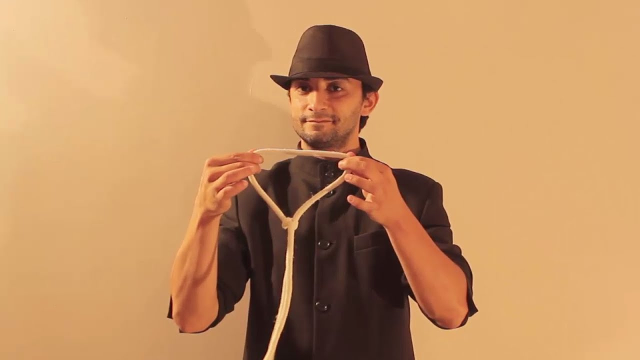 Magic Tricks With Rope And Ring