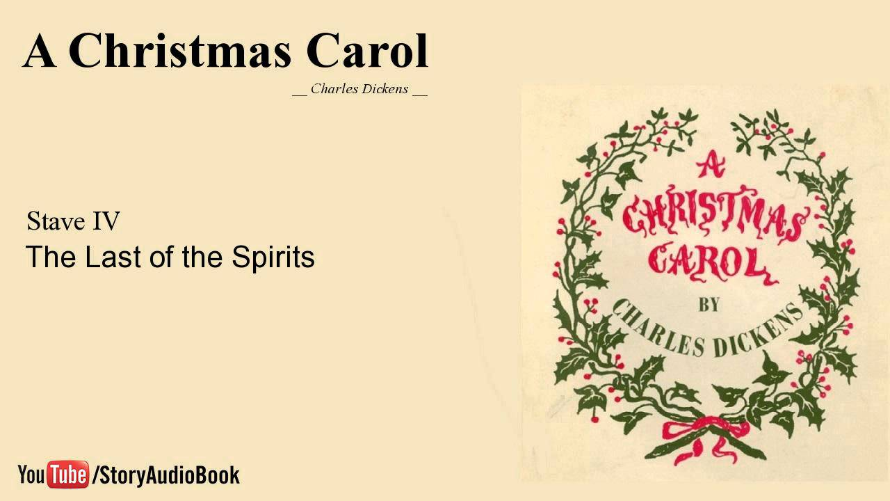 A Christmas Carol by Charles Dickens - Stave 4: The Last of the Spirits - YouTube