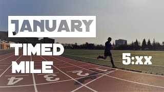 The First Mile Attempt || Monthly Timed Mile Challenge Ep. 01