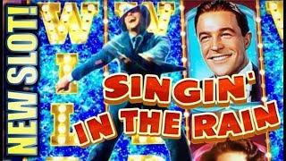 ★NEW SLOT!★ SINGIN' IN THE RAIN ☔️ Slot Machine Bonus (EVERI)