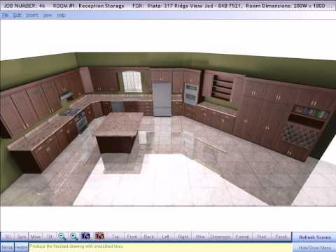 Cabinet Pro Software:  3D Design Software